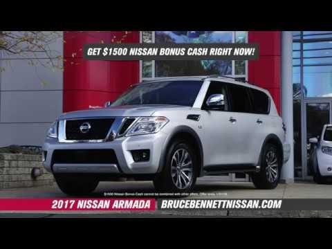 Nissan Armada Bonus Cash I Bruce Bennett Nissan
