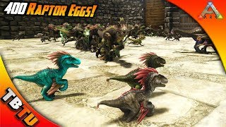 Exceptional RAPTOR BREEDING AND COLOR MUTATIONS! Ark Survival Ragnarok Mutation Zoo