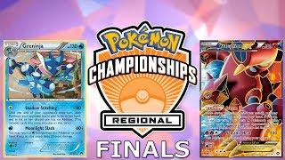 Pokemon TCG Hartford Regionals 2017-18 Finals: Greninja vs Volcanion