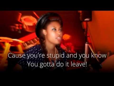 VV Brown - Leave - Karaoke with Lyrics