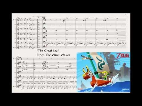 Legend Of Zelda medley for clarinet ensemble