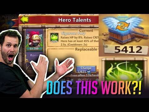 Rolling New Vigorious Fury Testing Glitch Castle Clash