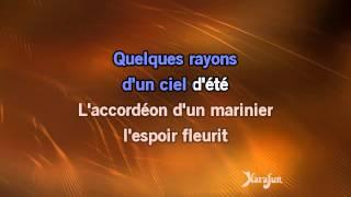 Karaoké Sous le ciel de Paris - Yves Montand * Video