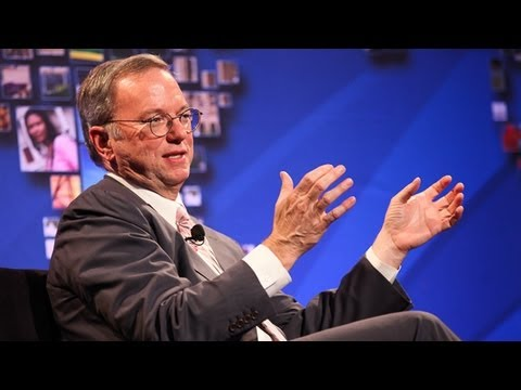 An interview with Eric Schmidt