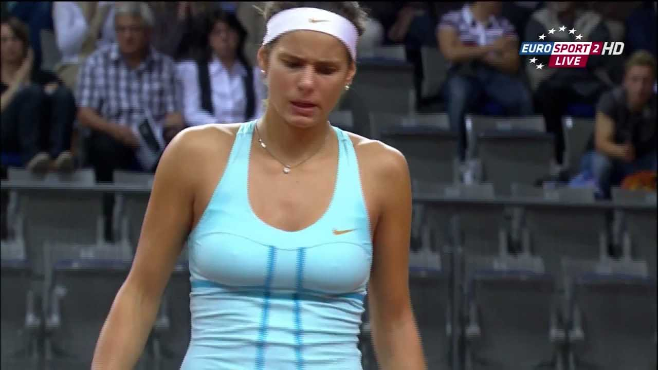 hot tennis players - julia goerges - youtube