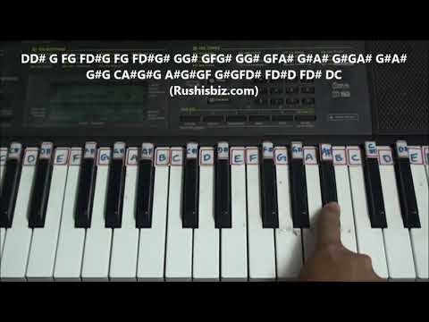 Nagin Song (Man Dole Mera) - Piano Tutorials - Full song | DOWNLOAD NOTES FROM DESCRIPTION