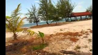 Пляж Хун Сена (Пляжный отдых в Сиануквиле).