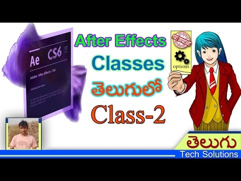 After Effects Classes In Telugu | After Effects Preferences | Class-2 | Telugu Tech Solutions!!!