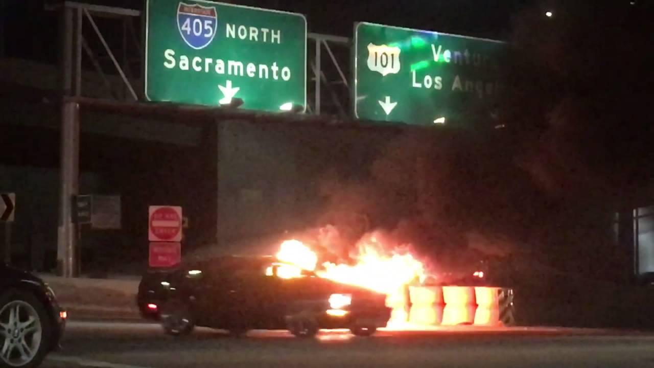Car On Fire 2017 Kia Optima