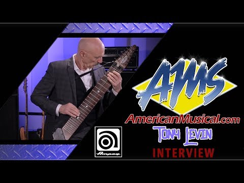 AMS Exclusive Tony Levin Interview - Ampeg