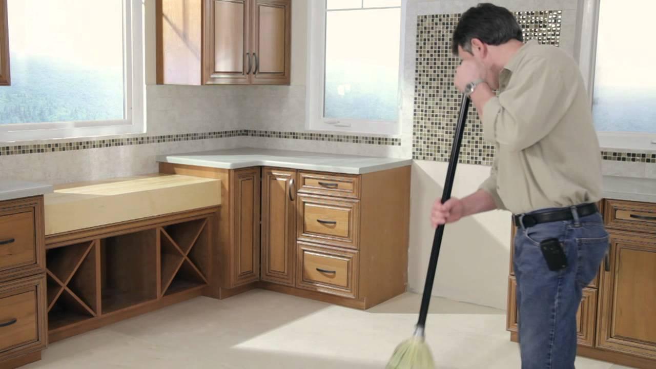 sub floor preparation for installing your peel and stick vinyl tile floor