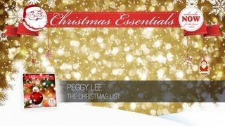 Peggy Lee - The Christmas List // Christmas Essentials
