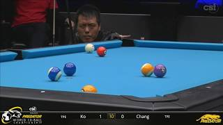2019 Predator World 10 Ball Championship: Ko Pin-Yi vs Chang Jung-Lin