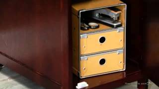 Piper Student Desk With Optional Hutch Set - Espresso