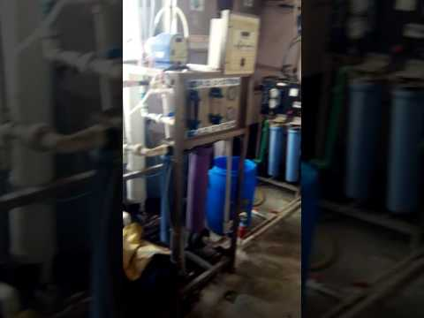 RO Plant with mix bed  and HPLC grade water filter installed at swiss biotec HSIDC karnal Haryana