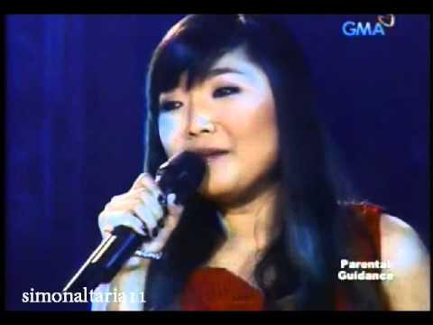 Charice crying while singing Maghintay Ka Lamang