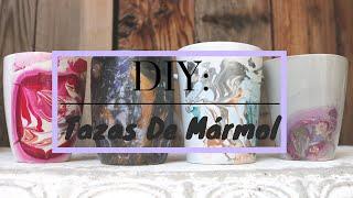 DIY: TAZAS DE MARMOL