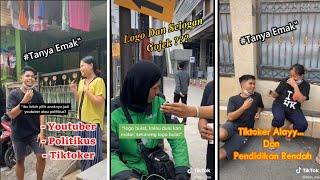 Download Politikus Vs Youtuber Vs Tiktoker (Tanya Emak-Emak) | Para Ojol gak tau Logo dan Slogan mereka?!