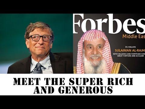 Super Rich And Generous - World's Greatest Philanthropists