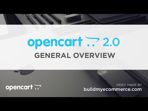 OpenCart 2.0 - General Overview