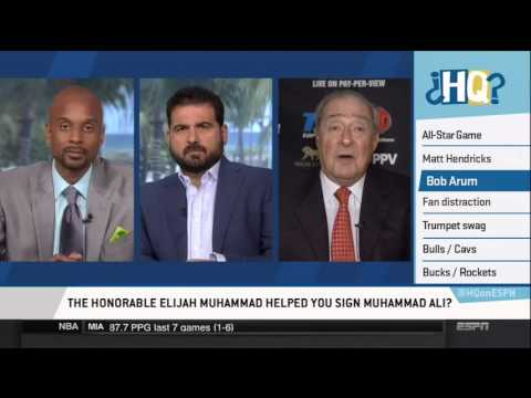 Bob Arum interview on Highly Questionable (Jan. 22, 2016)