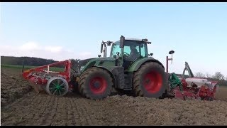 fendt tractors working on the farm, big power JCB tractor, john deere tractor plowing fiel