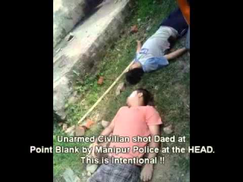 Manipur Police Brutality against unarmed Tribal Civilians at Lamka, Outer Manipur, India