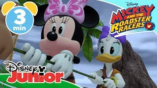 Mickey And The Roadster Racers | Stuck On An Island 🌴 | Disney Junior UK