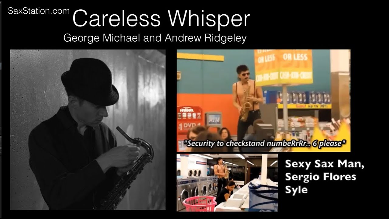 Want to play Careless Whisper on Alto Sax? Inspired by the Sexy Sax