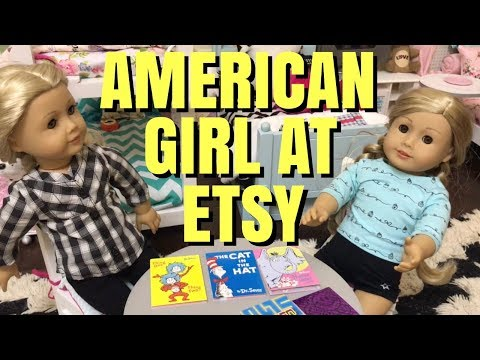 Huge American Girl Etsy Haul