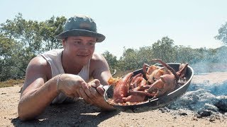 EP 1 - Catch n Fry - MUDCRAB HUNT with Chilli Recipe (Crab vs Beer)
