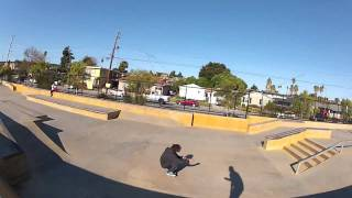 "BIGGEST KICKFLIP you can do in SANTA CRUZ county california ""da_DEATH-gap"" (first try) (JhON GrAY)"