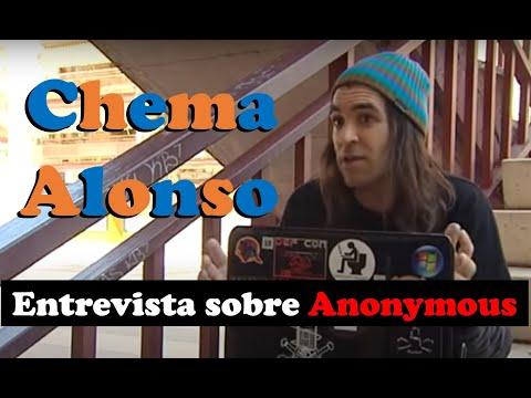 [2011] Entrevista a Chema Alonso sobre Anonymous