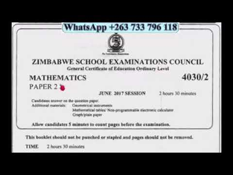 ZIMSEC PAST EXAM PAPERS EBOOK DOWNLOAD