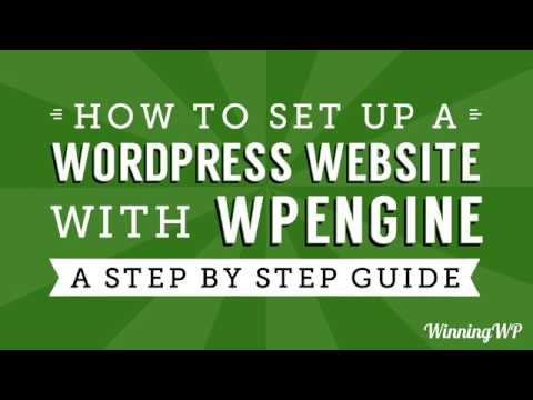 How to Make a Professional WordPress Website with WPEngine - A Complete No-Steps-Skipped Guide!