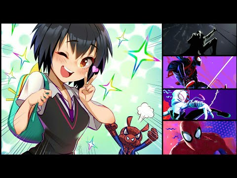 Nightcore Cover_SunFlower♪(OST Spiderman Into Spider Verse)