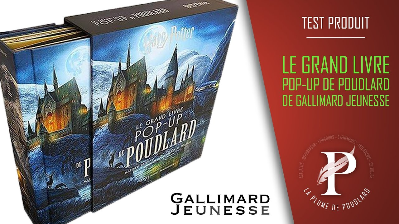 Critique Litteraire Le Grand Livre Pop Up De Poudlard Edite Par Gallimard Jeunesse