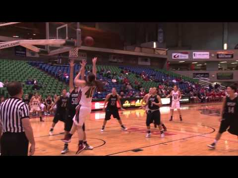 Minot State Women's Basketball vs. Sioux Falls Post Game