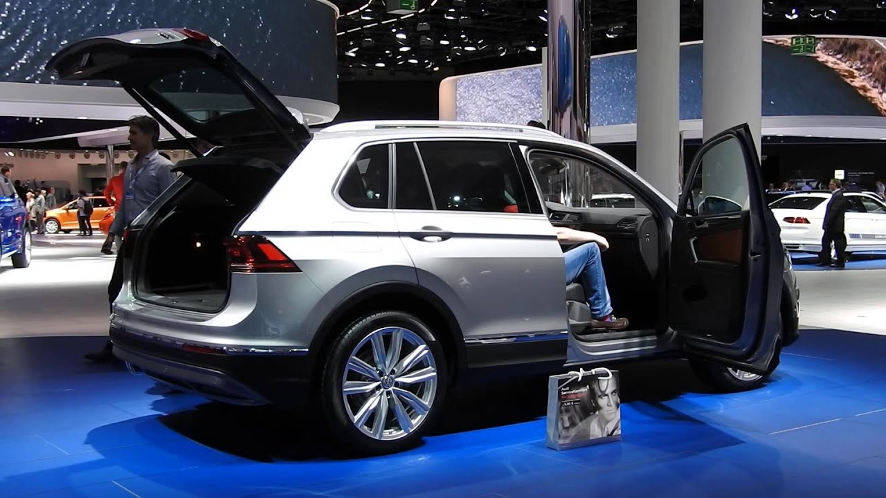 the new vw tiguan iaa 2015 youtube. Black Bedroom Furniture Sets. Home Design Ideas