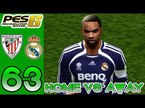 Home vs Away PES 6 - Athletic Bilbao vs Real Madrid - Episode 63