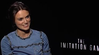 Keira Knightley on the importance of Benedict Cumberbatch in 'The Imitation Game'