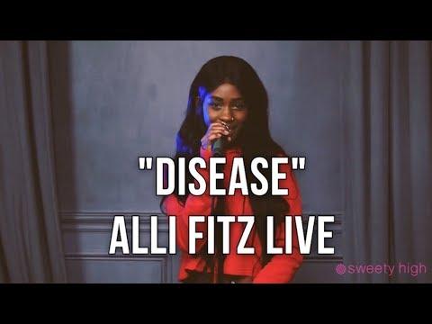 Alli Fitz - Disease (Live at Sweety High)