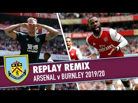 REPLAY REMIX | Arsenal v Burnley 2019/20