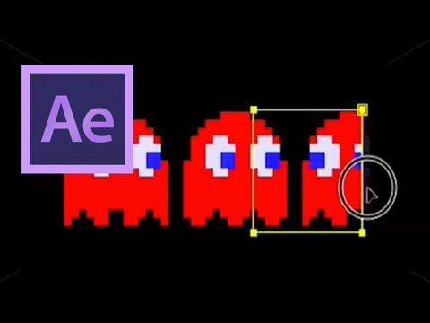 After Effects: Pac-Man 5- Masking and Positioning the Ghosts