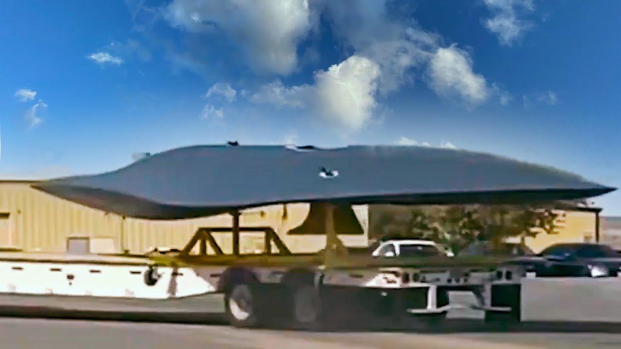 НЛО или истребитель шестого поколения? На базе в США
