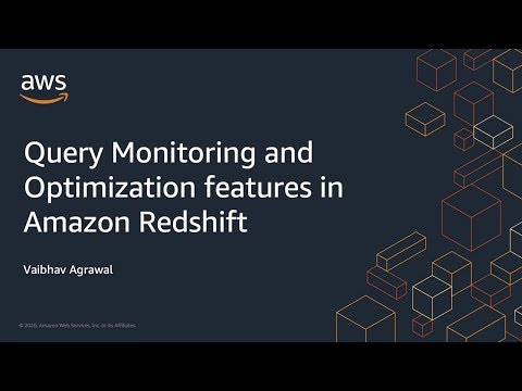 Query Monitoring with Amazon Redshift