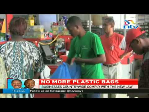 Businesses countrywide comply with new plastic bags law