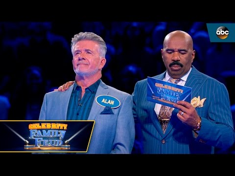Thicke Takes On Fast Money  Celebrity Family Feud