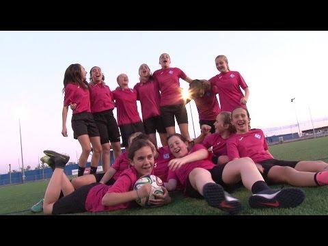 AEM Lleida Infantil Femeni Campiones