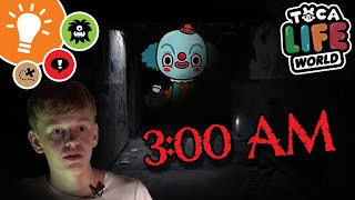 DO NOT PLAY IN THE TOCA LIFE: WORLD HAUNTED HOUSE LOCATION AT 3AM!!!